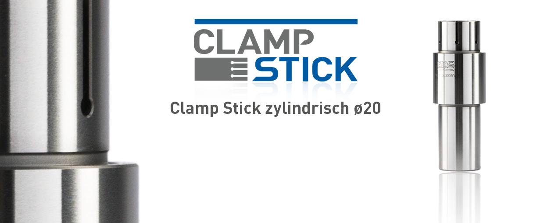 Clamp Stick zylindrisch ø20