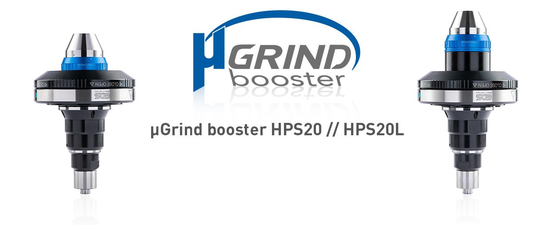 µGrind booster HPS20 und HPS 20 L