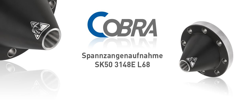 COBRA Spannzangenaufnahme SK50 3148E L68