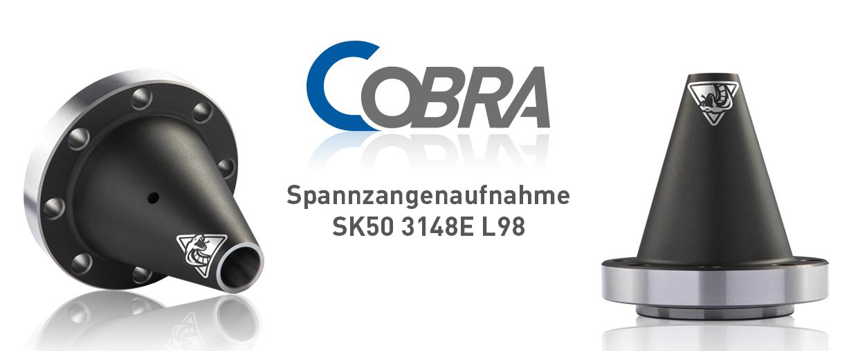 COBRA Spannzangenaufnahme SK50 3148E L98