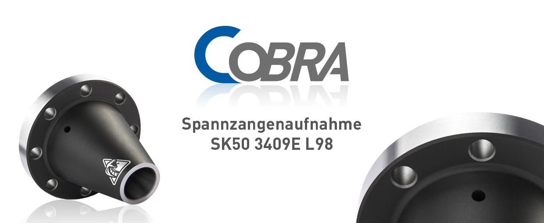 COBRA Spannzangenaufnahme SK50 3409E L98