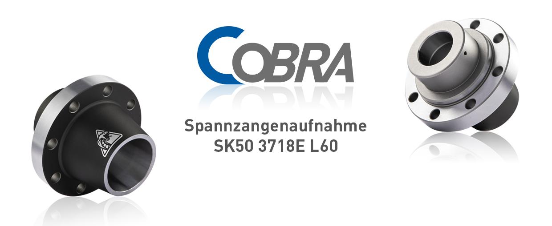 COBRA Spannzangenaufnahme SK50 3718E L60
